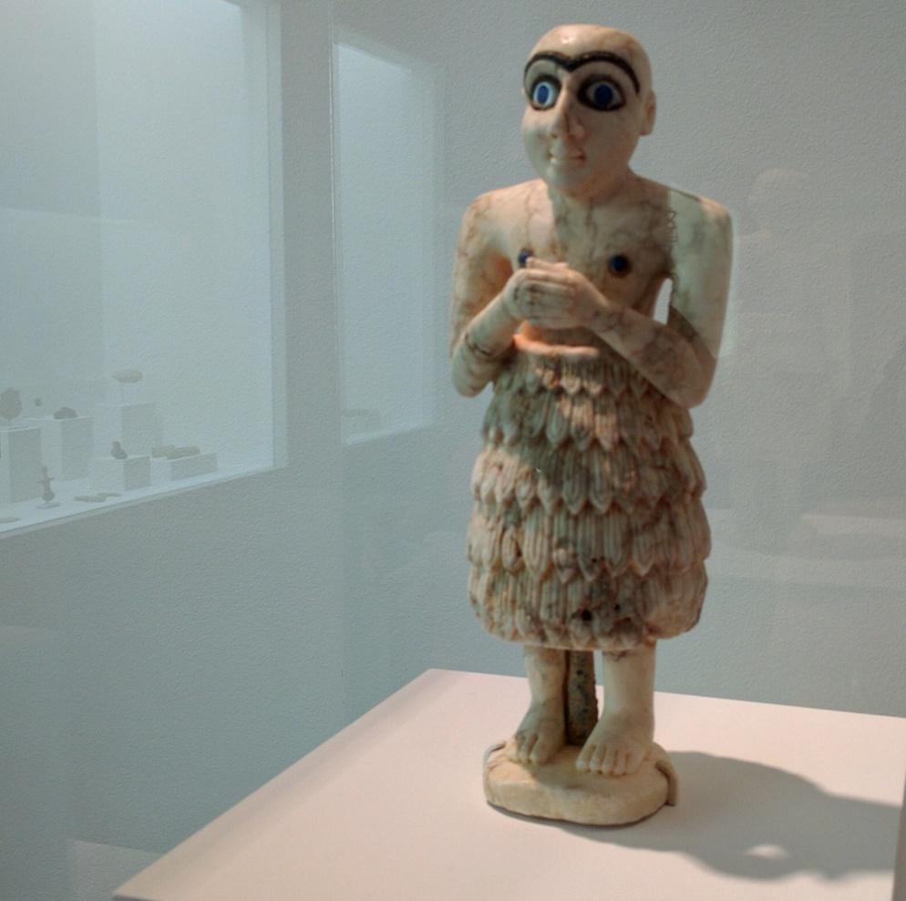 Menil statue