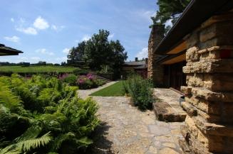 The garden and hilltop